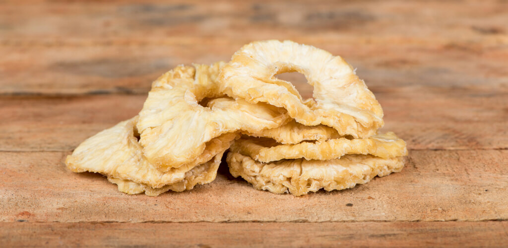 cape dried fruit pineapple slices